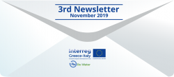 November 2019 edition of the Re-Water Newsletter has been published